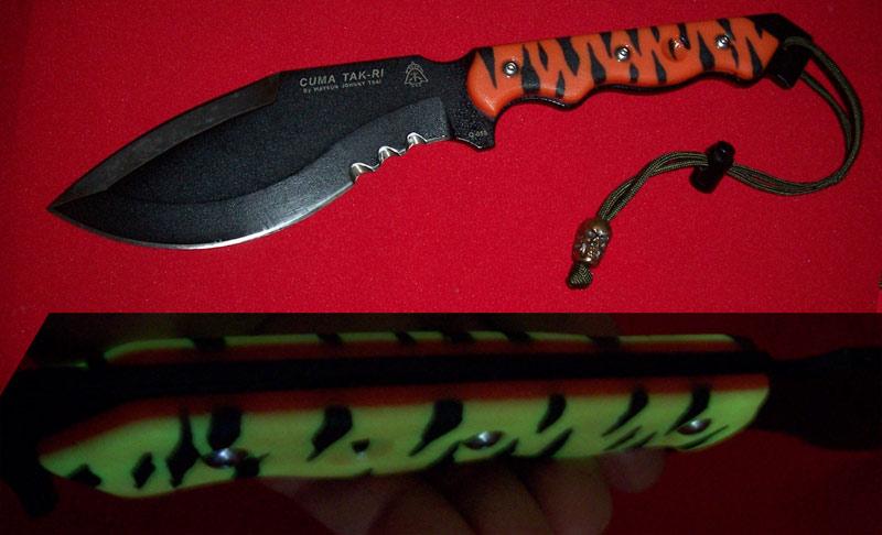 CUMA Tak-Ri Version 2 Custom Orange Tiger Force Woodsman