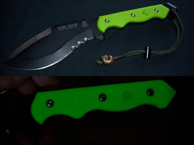 CUMA Tak-Ri Version 2 Zombie Green Woodsman